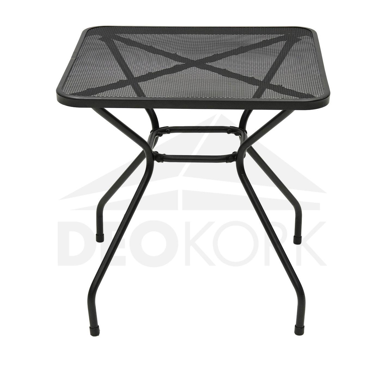 Gartentisch Aus Metall Trend 70x70 Cm I Gartenmoebel De