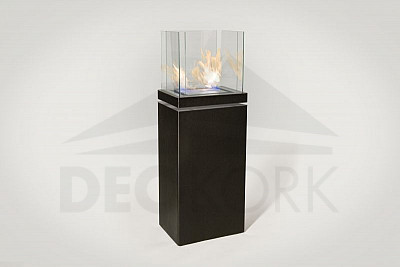BIO Kamin freistehend Radius design cologne (HIGH FLAME 555A)